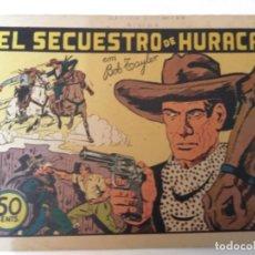 Tebeos: BOB TAYLER - EL SECUESTRO DE HURACAN- MUY BIEN CONSERVADO. Lote 183079520