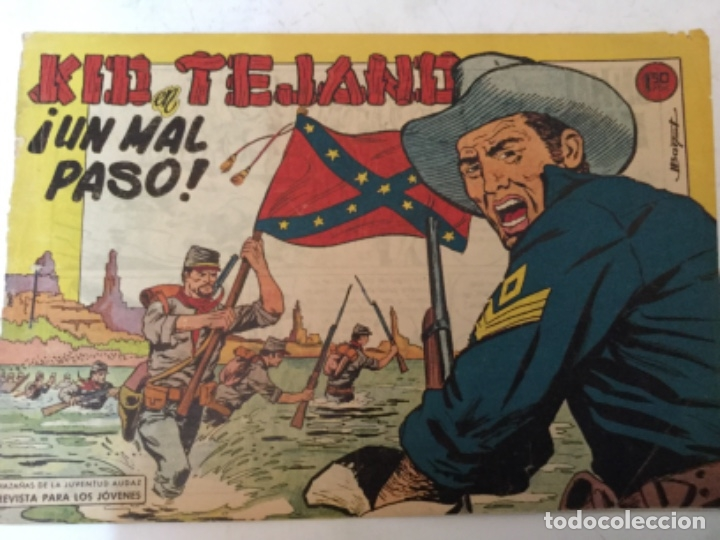 KID TEJANO - UN MAL PASO (Tebeos y Comics - Valenciana - Otros)