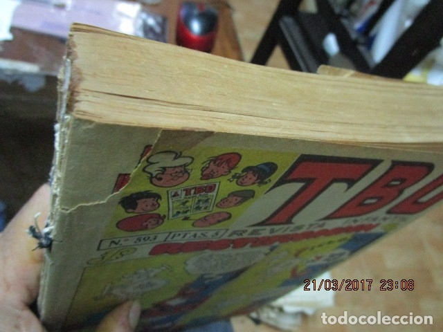 Tebeos: TOMO 25 TEBEOS ANTIGUOS TBO ORIGINALES 1969 MUY BIEN CONSERVADOS EXCELENTES - Foto 4 - 173487679