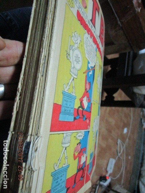 Tebeos: TOMO 25 TEBEOS ANTIGUOS TBO ORIGINALES 1969 MUY BIEN CONSERVADOS EXCELENTES - Foto 5 - 173487679
