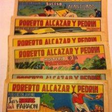 Tebeos: ROBERTO ALCAZAR - LOTE DE 10. Lote 183301201