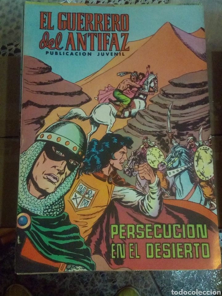 EL GUERRERO DEL ANTIFAZ LOTE 131 COMIC AÑOS VARIADOS (1972-73-74) (Tebeos y Comics - Valenciana - Guerrero del Antifaz)