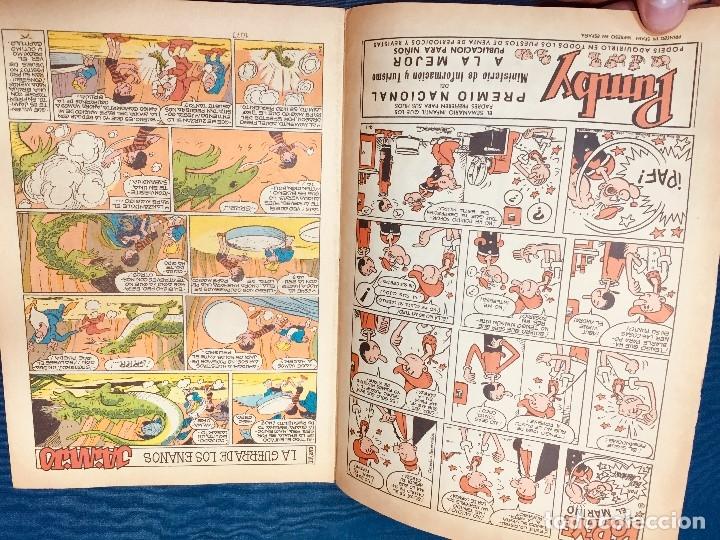 Tebeos: COMIC PUBLICACION JUVENIL JAIMITO AÑO XXV NUMERO 1.073 1970 - Foto 5 - 183320326