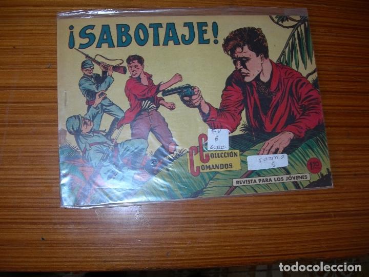 COLECCION COMANDOS Nº 45 EDITA VALENCIANA (Tebeos y Comics - Valenciana - Otros)