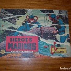 Tebeos: COLECCION COMANDOS Nº 50 EDITA VALENCIANA . Lote 183378666
