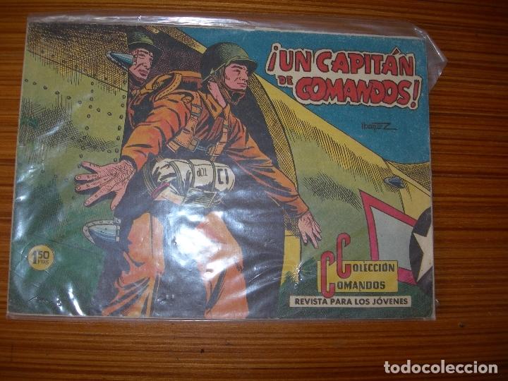 COLECCION COMANDOS Nº 58 EDITA VALENCIANA (Tebeos y Comics - Valenciana - Otros)
