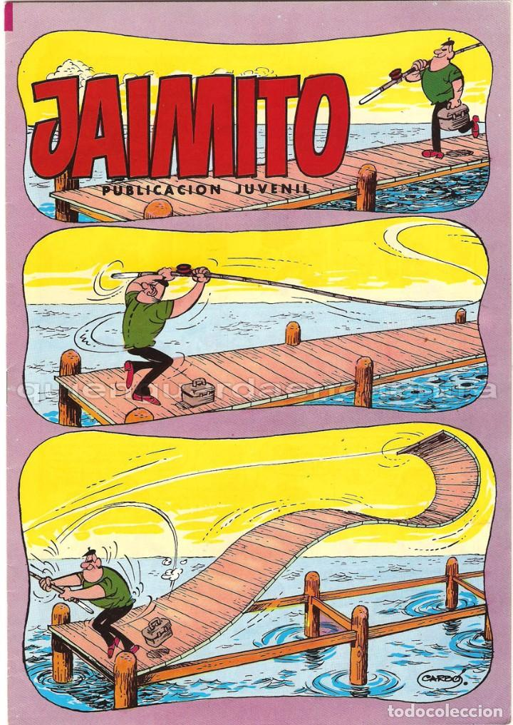 COMIC JAIMITO EDITORIAL VALENCIANA Nº 1684 EDITVAL NUEVO 1984 (Tebeos y Comics - Valenciana - Jaimito)