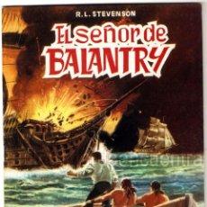 Tebeos: EL SEÑOR DE BALANTRY CLÁSICOS ILUSTRADOS Nº 5 EDITORIAL VALENCIANA-1984-JULIO VERNE 1984 NUEVO. Lote 183492841