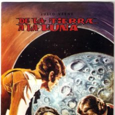 Tebeos: DE LA TIERRA A LA LUNA CLÁSICOS ILUSTRADOS Nº 4 EDITORIAL VALENCIANA-1984-JULIO VERNE NUEVO. Lote 183493865