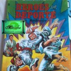 Tebeos: HEROES DEL DEPORTE Nº 5 COLOSOS DEL COMIC AMBROSIO EDITORIAL VALENCIANA-1984-NUEVO. Lote 183497095