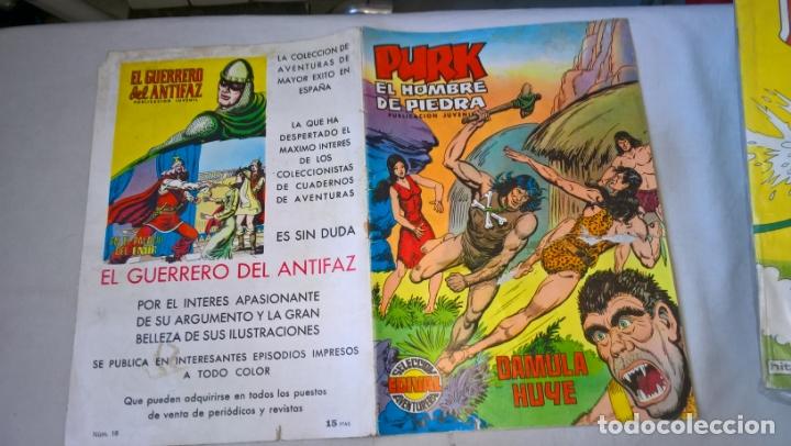 COMIC: PURK EL HOMBRE DE PIEDRA Nº 18 DAMULA HUYE (Tebeos y Comics - Valenciana - Purk, el Hombre de Piedra)