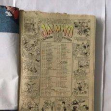 Tebeos: JAIMITO - RECOPILACIÓN CASERA 112 PÁGINAS AÑO 1949- MAYORIA HISTORIAS. Lote 183540532