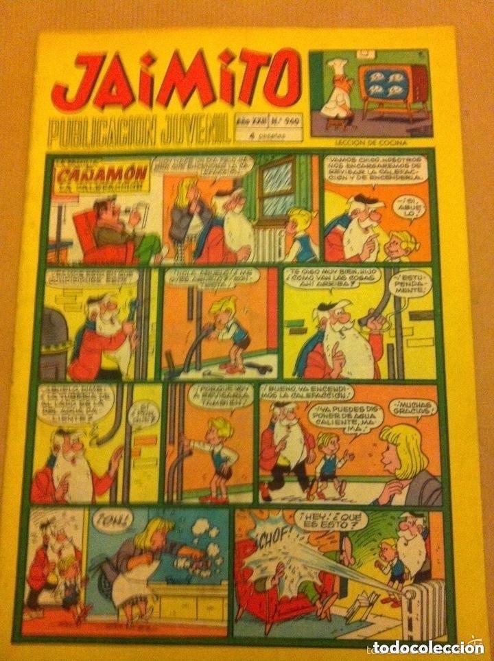 JAIMITO - Nº.940 - AÑO 1967 (Tebeos y Comics - Valenciana - Jaimito)