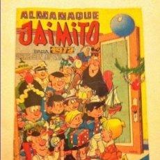 Tebeos: JAIMITO - ALMANAQUE 1972 - (PEQUEÑISIMO MORDISCO ABAJO). Lote 183540752