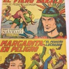 Tebeos: PEQUEÑO LUCHADOR - 2ª SERIE - LOTE DE 2 EJEMPLARES - MUY BIEN CONSERVADOS- NUM.107 Y 191. Lote 183541750
