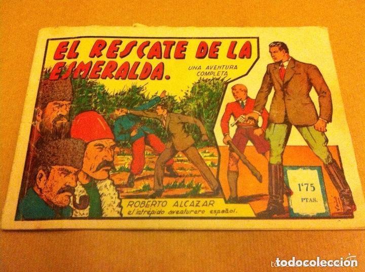 ROBERTO ALCAZAR - Nº. 61- (1,75 PTS.) (Tebeos y Comics - Valenciana - Roberto Alcázar y Pedrín)