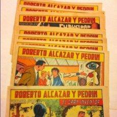 Tebeos: ROBERTO ALCAZAR - LOTE E 10. Lote 183542805