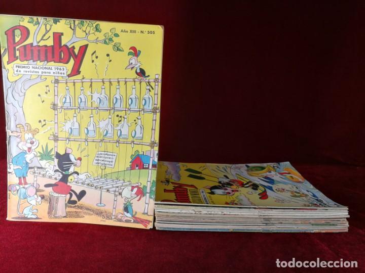 OFERTA!! LOTE ORIGINAL PUMBY 23 EJEMPLARES EN MUY BUEN ESTADO VALENCIANA (Tebeos y Comics - Valenciana - Pumby)