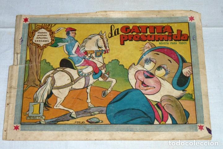 CUENTOS GRÁFICOS INFANTILES CASCABEL Nº 83. VALENCIANA 1956. (Tebeos y Comics - Valenciana - Otros)