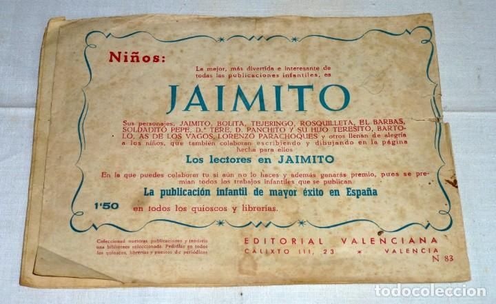 Tebeos: Cuentos Gráficos Infantiles Cascabel nº 83. Valenciana 1956. - Foto 2 - 183744168