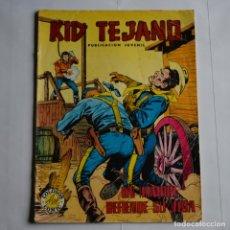 Tebeos: KID TEJANO, Nº 15. VALENCIANA, 1980. LITERACOMIC. C2. Lote 183770912