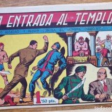 Tebeos: LA ENTRADA EN EL TEMPLO Y EL FINAL DEL TRIO MALDITO. Lote 183820966