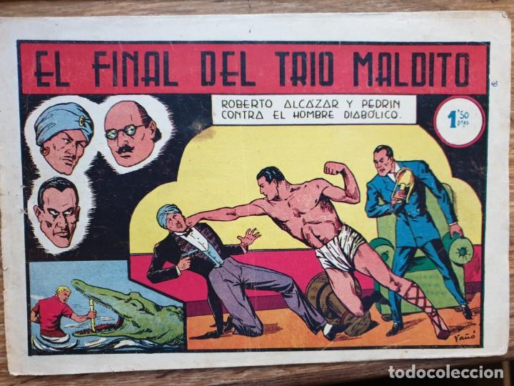 Tebeos: LA ENTRADA EN EL TEMPLO Y EL FINAL DEL TRIO MALDITO - Foto 2 - 183820966