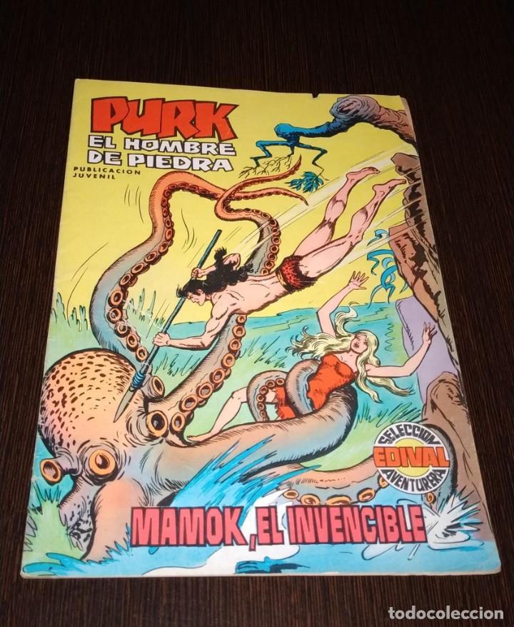 PURK EL HOMBRE DE LA PIEDRA. MAMOK, EL INVENCIBLE. NUMERO 4. (Tebeos y Comics - Valenciana - Purk, el Hombre de Piedra)