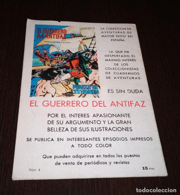 Tebeos: PURK EL HOMBRE DE LA PIEDRA. MAMOK, EL INVENCIBLE. NUMERO 4. - Foto 2 - 183930433