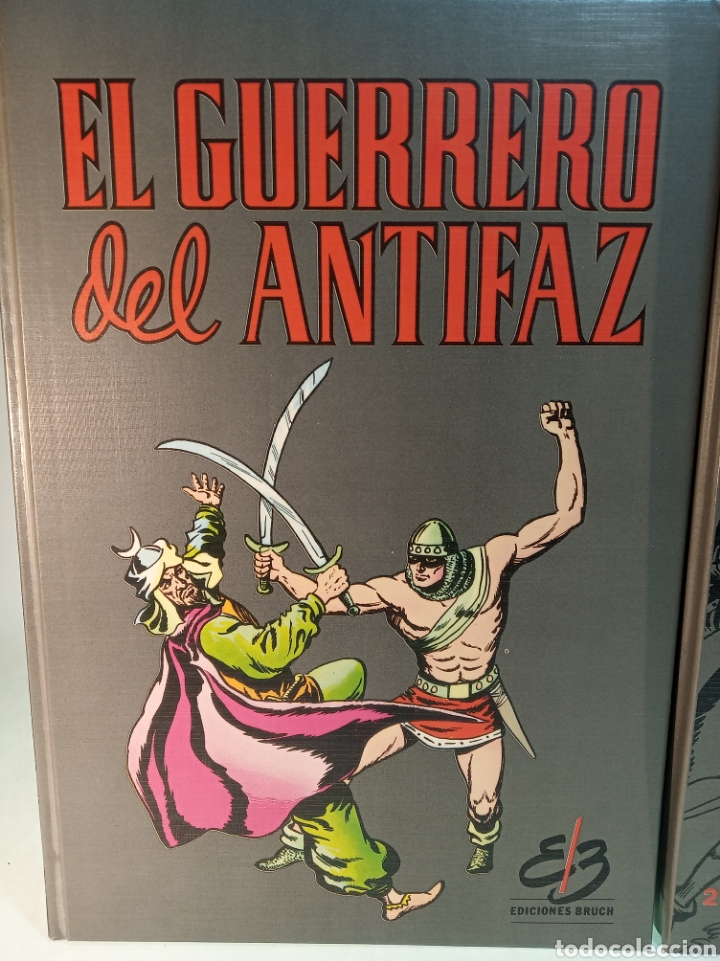 Tebeos: Colección el guerrero del antifaz. 10 tomos. Completo. 1991. - Foto 2 - 183960940