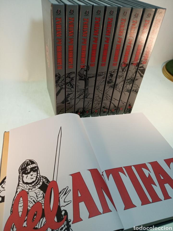 Tebeos: Colección el guerrero del antifaz. 10 tomos. Completo. 1991. - Foto 4 - 183960940