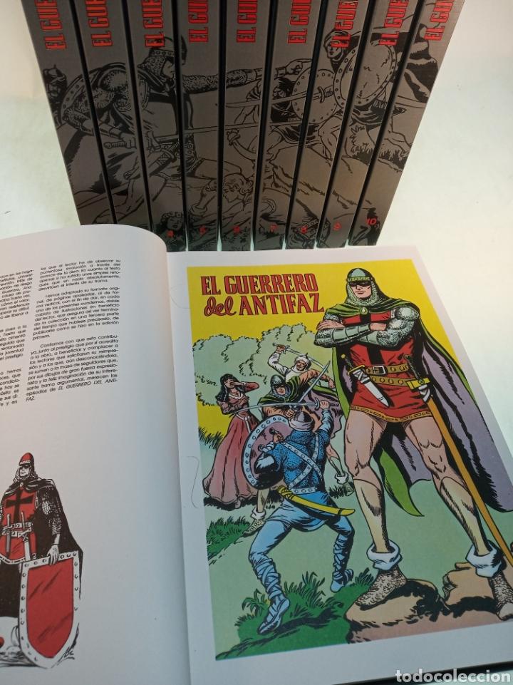 Tebeos: Colección el guerrero del antifaz. 10 tomos. Completo. 1991. - Foto 6 - 183960940