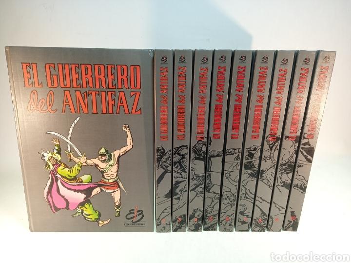 COLECCIÓN EL GUERRERO DEL ANTIFAZ. 10 TOMOS. COMPLETO. 1991. (Tebeos y Comics - Valenciana - Guerrero del Antifaz)