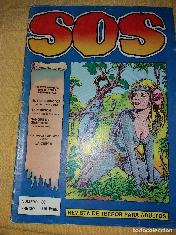 SOS.NUMERO 00.VALENCIANA (Tebeos y Comics - Valenciana - S.O.S)