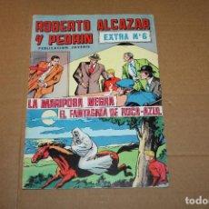 Tebeos: ROBERTO ALCAZAR Y PEDRÍN EXTRA Nº 6, VALENCIANA COLOR. Lote 184280108