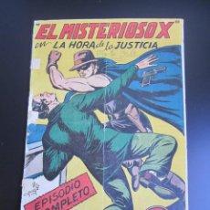 Livros de Banda Desenhada: MISTERIOSO X, EL (1950, GARGA) 7 · 6-VI-1950 · LA HORA DE LA JUSTICIA. Lote 184283063