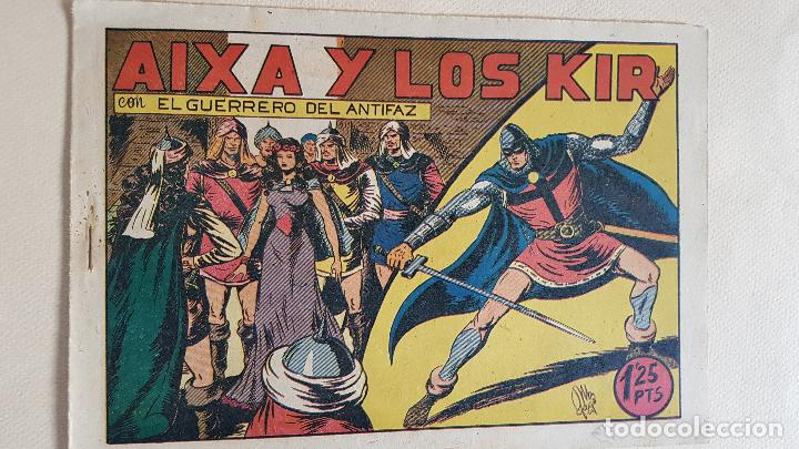 88- AIXA Y LOS KIR (Tebeos y Comics - Valenciana - Guerrero del Antifaz)