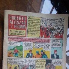 Tebeos: ROBERTO ALCAZAR Y PEDRIN Nº 13 EL TERRIBLE CRISHNAMARTI . VALENCIANA. Lote 184813102