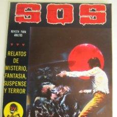 Tebeos: SOS (1980, VALENCIANA) 12 · 21-III-1981 · S O S. Lote 184840755