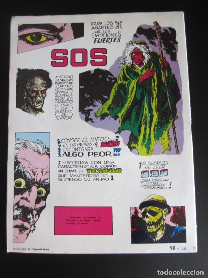 Tebeos: SOS (1980, VALENCIANA) 12 · 21-III-1981 · S O S - Foto 2 - 184840755
