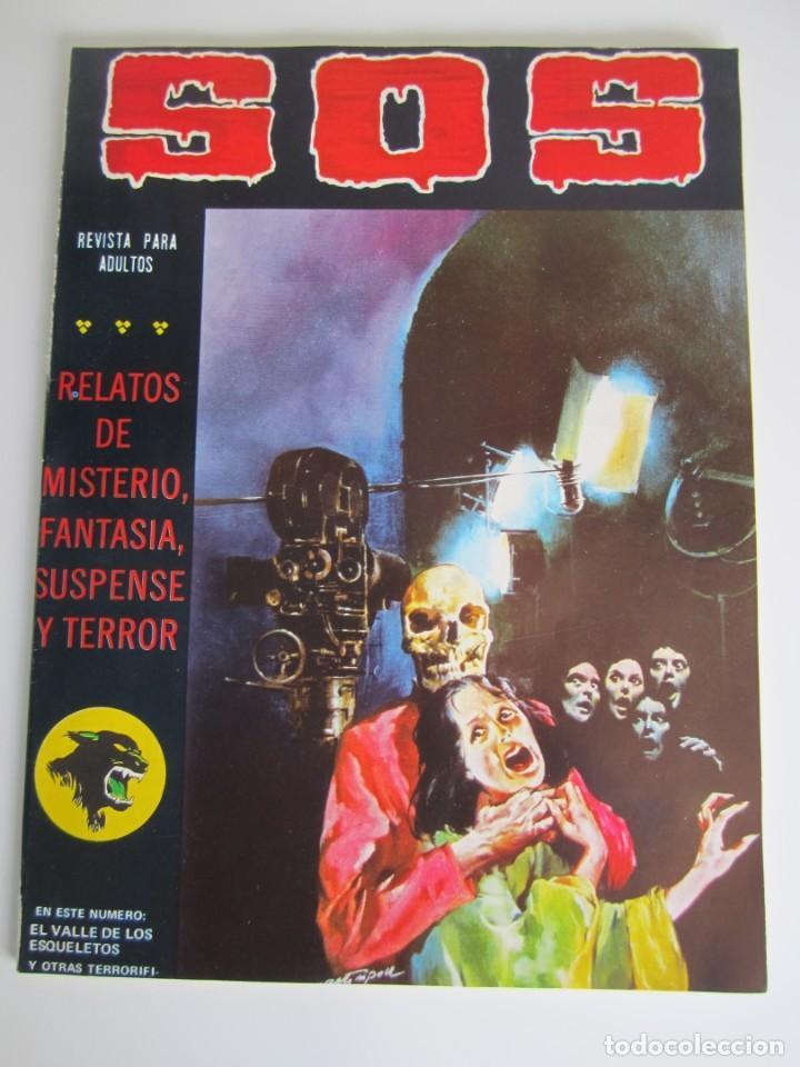 SOS (1980, VALENCIANA) 11 · 7-III-1981 · S O S (Tebeos y Comics - Valenciana - S.O.S)