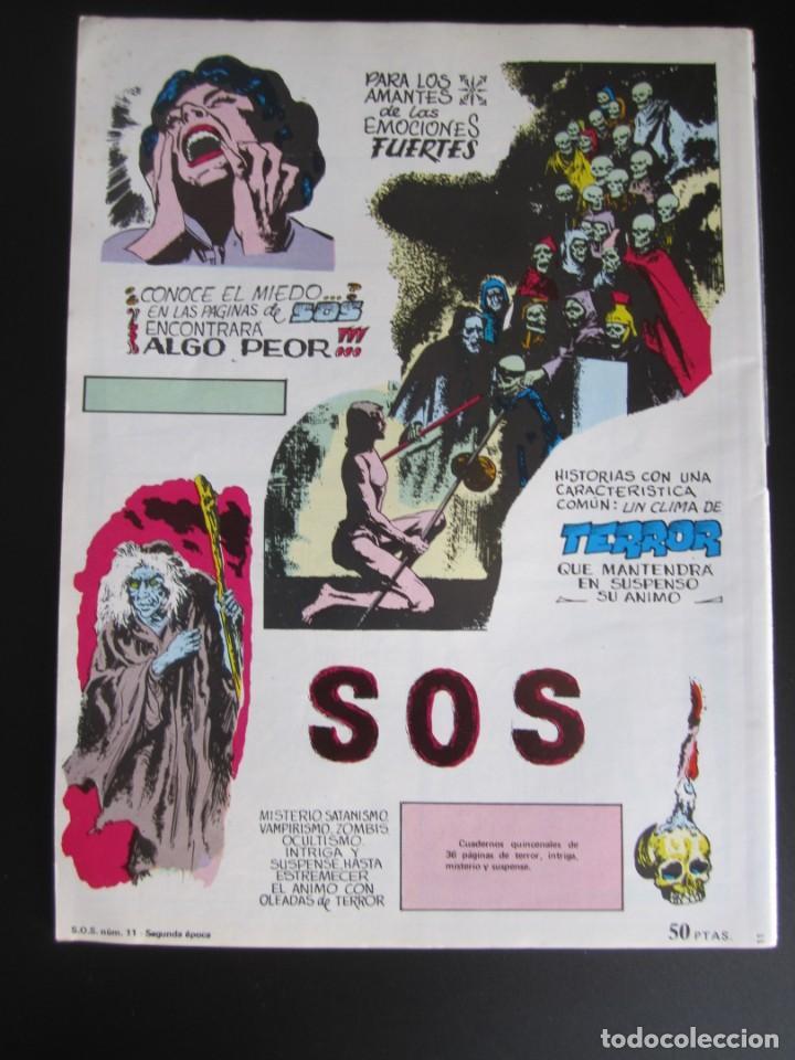 Tebeos: SOS (1980, VALENCIANA) 11 · 7-III-1981 · S O S - Foto 2 - 184842147