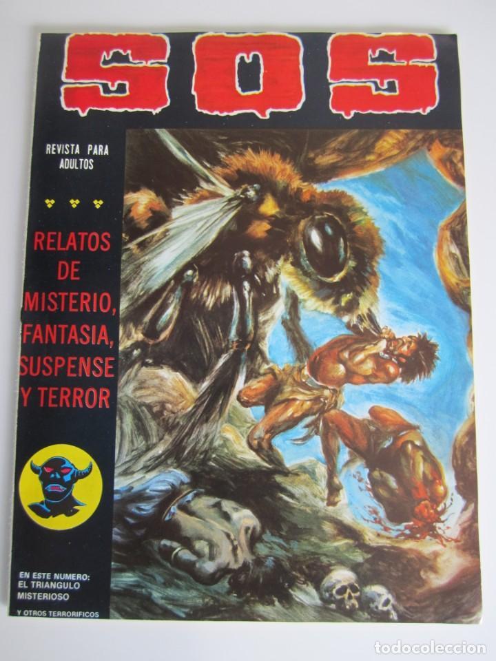 SOS (1980, VALENCIANA) 23 · 12-IX-1981 · S O S (Tebeos y Comics - Valenciana - S.O.S)