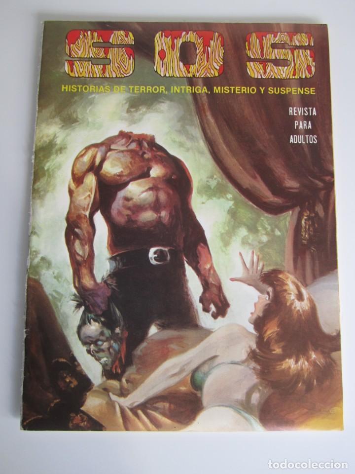 SOS (1980, VALENCIANA) 42 · 23-X-1982 · S O S (Tebeos y Comics - Valenciana - S.O.S)