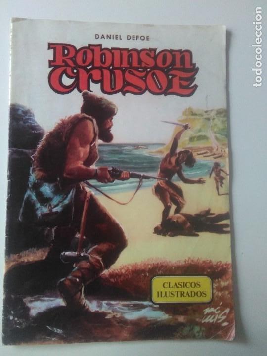 CLASICOS ILUSTRADOS Nº 3 ROBINSON CRUSOE / VALENCIANA 1984 (Tebeos y Comics - Valenciana - Otros)