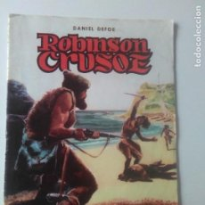 Tebeos: CLASICOS ILUSTRADOS Nº 3 ROBINSON CRUSOE / VALENCIANA 1984. Lote 184876018