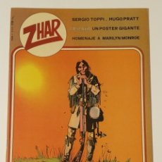 Tebeos: COMICS ZAR. NÚMEROS 1, 2 Y 3. PRATT, TOPPI, MANCINI, BATTAGLIA. Lote 185326160