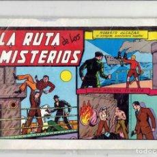 Tebeos: LA RUTA DE LOS MISTERIOS N,18 EDITORIAL VALENCIANA 1981. Lote 185675550