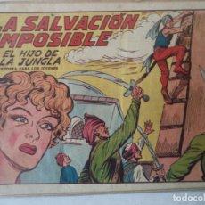 Tebeos: EL HIJO DE LA JUNGLA Nº 9 ORIGINAL. Lote 185971850