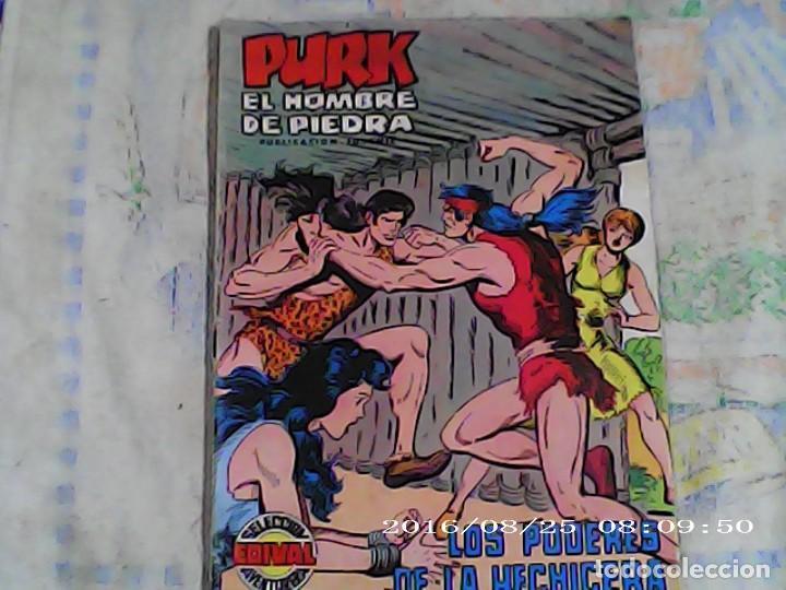 COMICS DE PURK EL HOMBRE DE PIEDRA EN LOS PODERES DE LA HECHICERA Nª 72 (Tebeos y Comics - Valenciana - Purk, el Hombre de Piedra)